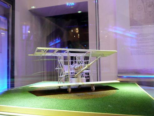 Музей Николы Теслы - Модель самолета с вертикальным взлетом