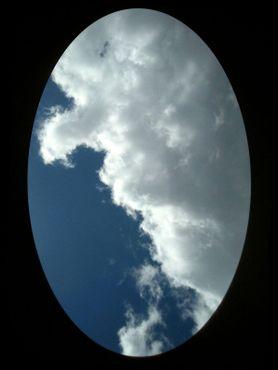 Вид через отверстие в потолке