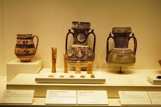 В ходе раскопок была найдена керамика времен арабского господства в Испании