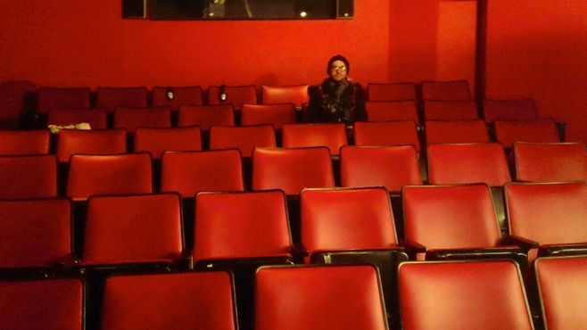 Red Rock Cinema изнутри похож на магму