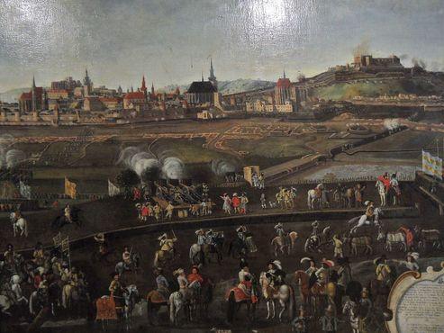 Безуспешная осада шведами в 1645 году