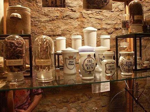 Выставка алхимических ингредиентов