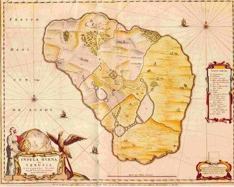 Карта Вена в Атласе Блау 1663 года