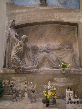 Гробница Аппиани, изображенная на альбоме Closer группы Joy Division