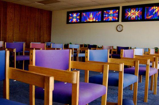 Комната медитации на третьем этаже Центра посетителей