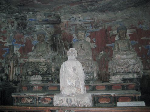 Каменная резьба Дацзу