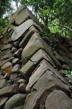 Руины в парке Часондэ