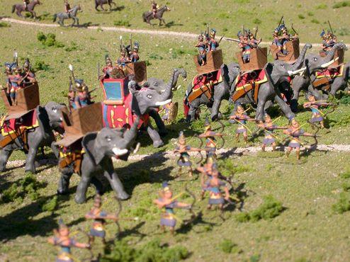 Музей военной миниатюры в цитадели города Хака
