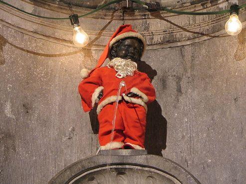 В образе Санта-Клауса