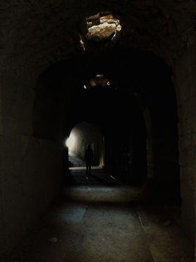 Подвалы замка Керак
