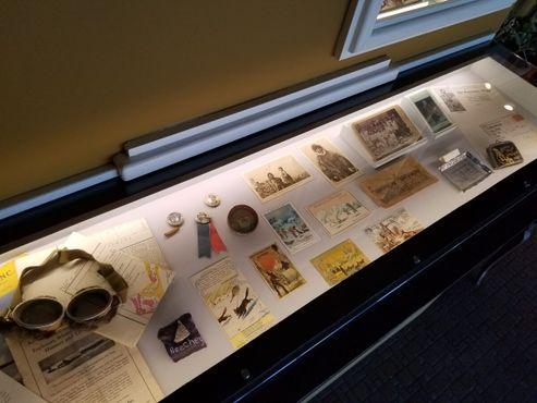 Коллекция экспонатов, связанных с экспедициями в Артику