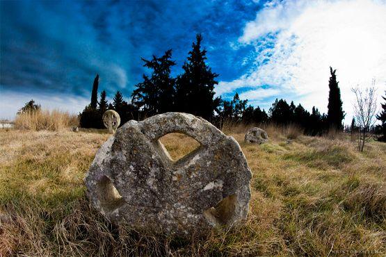 Кладбище богомилов в Неа-Халкидоне