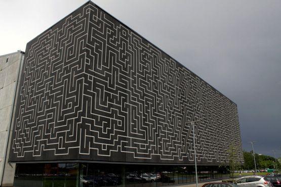 Ноора, новое здание Национального архива Эстонии