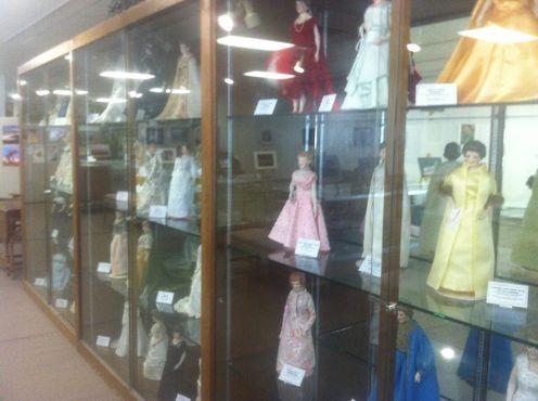 Кукольные первые леди из библиотеки округа Юинта