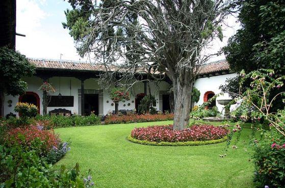 Главный сад Каса-Попено