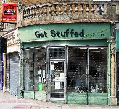 "Фотографии CC лицензии ""Эмили Уэббер"" от www.londonshopfronts.com"