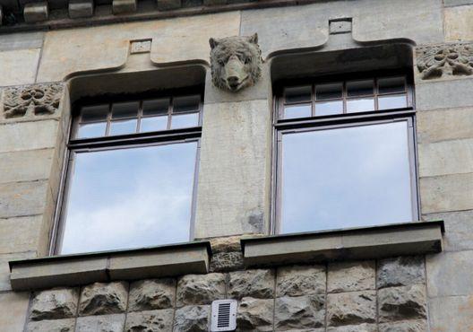 Изображение головы медведя