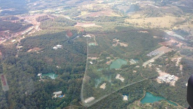 Вид на Иньотим с высоты птичьего полета