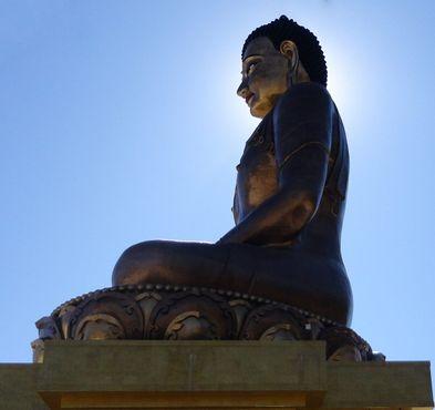 Будда Дорденма в профиль