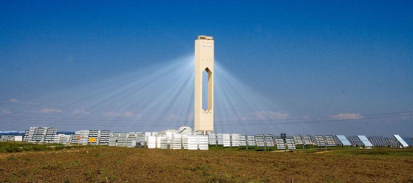 Башня солнечной электростанции