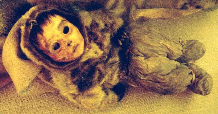 Мумия младенца, обнаруженная вКилакитсоке
