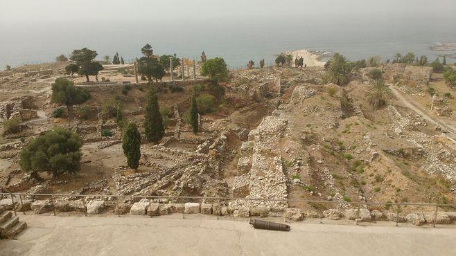 Археологические раскопки в Библосе