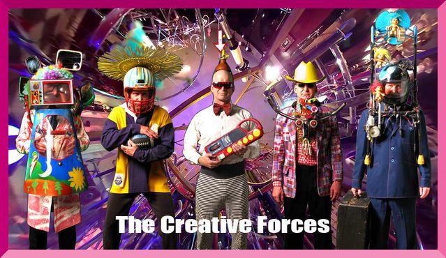 Творческие Силы из волшебного мира Бевелдом, созданного художником Недом Шэйпером