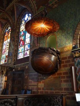 Базилика - кафедра в виде Земли