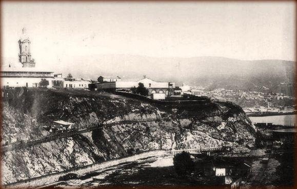 Церковь Святого Франциска на вершине Серро-Барон, дата неизвестна