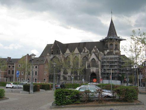 Церковь в ходе одной из многочисленных реставраций