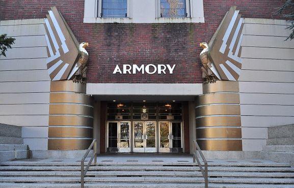Северный вход в Сиэтлский центр «Армори»