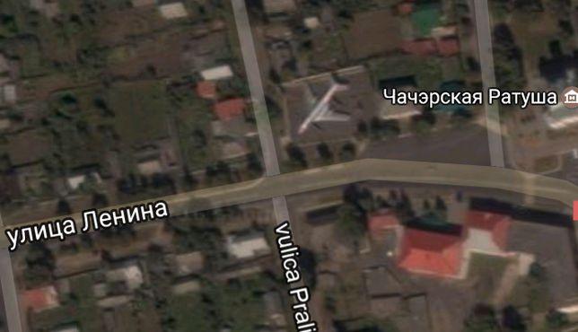 Самолет виден на изображении со спутника