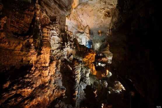 Часть верхней пещеры