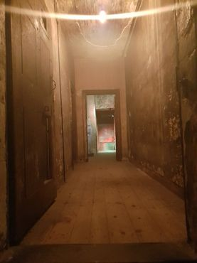 Внутри дома последних жителей