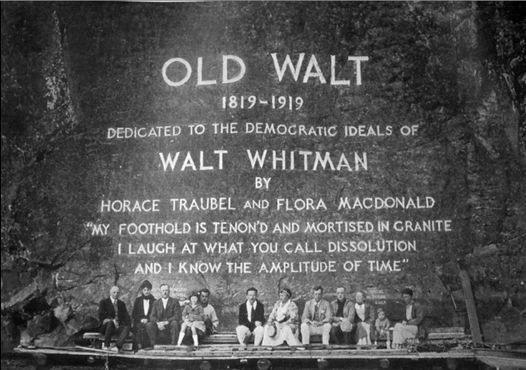 Монумент Уолта Уитмена