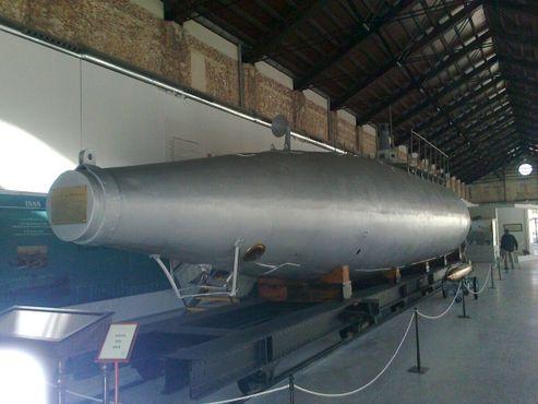 Конец работы подводной лодки, спереди был один торпедный аппарат