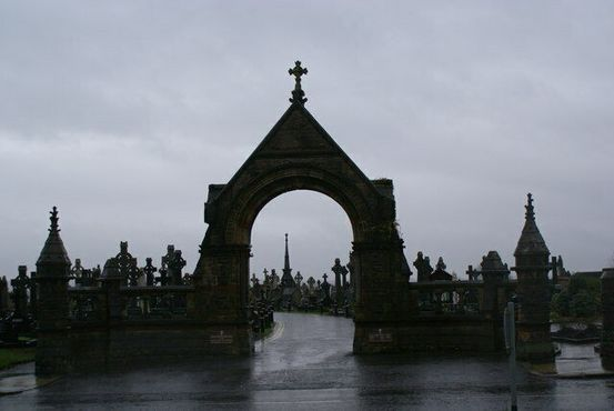 Вход на кладбище Миллтаун