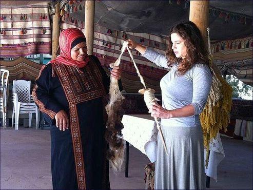 Ткачество бедуинов пустыни Негев
