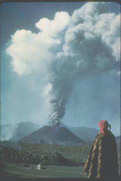 Извержение Парикутина в 1943 году
