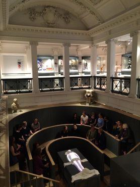 Зал для вскрытий в Музее истории хирургии