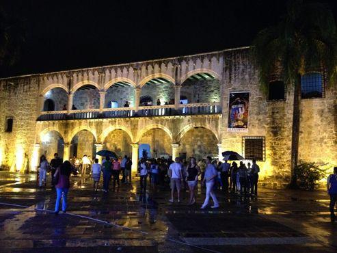 Алькасар-де-Колон во время долгой ночи музеев