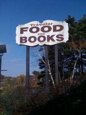 Еда и книги - лучшее сочетание