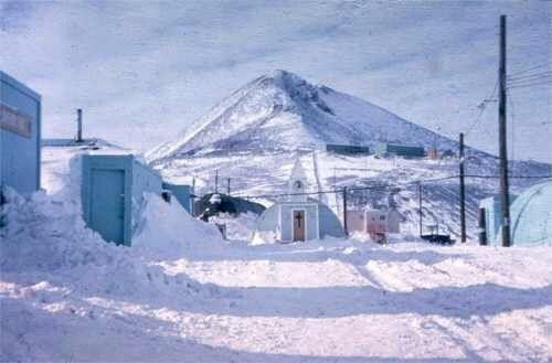 Часовня снегов в первозданном виде в ноябре 1965 года