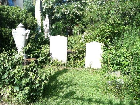 Надгробия на унитарианском кладбище