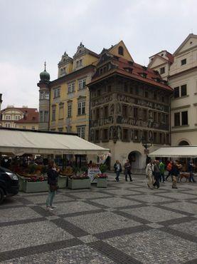 Посещение Праги