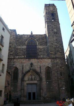 Фасад базилики святых Юстуса и Пастора