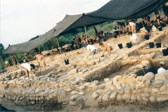 Археологические раскопки в Шаар-ха-Голан