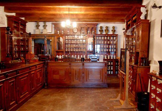 Венская аптека XVIII века