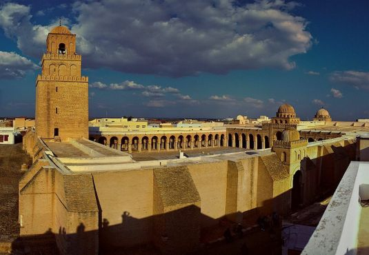 Панорама на мечеть