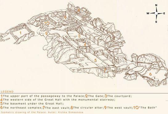 Изометрический рисунок Дворца